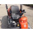 Husqvarna P 524 frontkaszás rider fűnyíró traktor 122 cm vágóasztallal