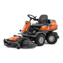 Husqvarna R 420 TSX AWD frontkaszás rider fűnyíró traktor combi 122 cm vágóasztallal